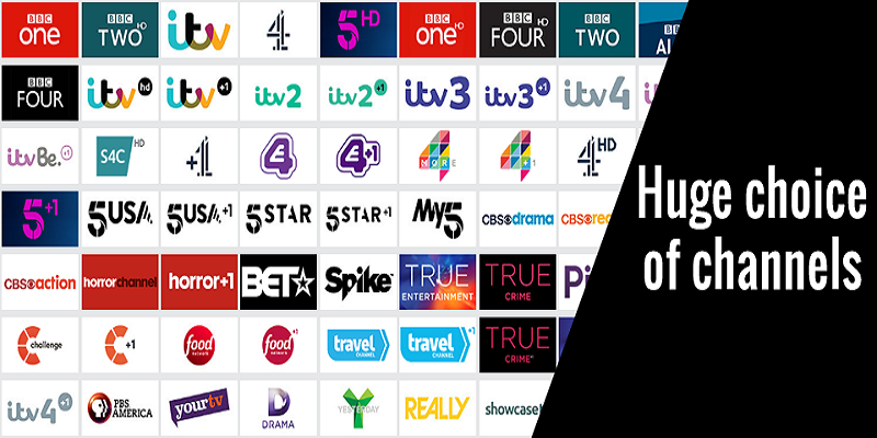 Freeview and Freesat Channels List