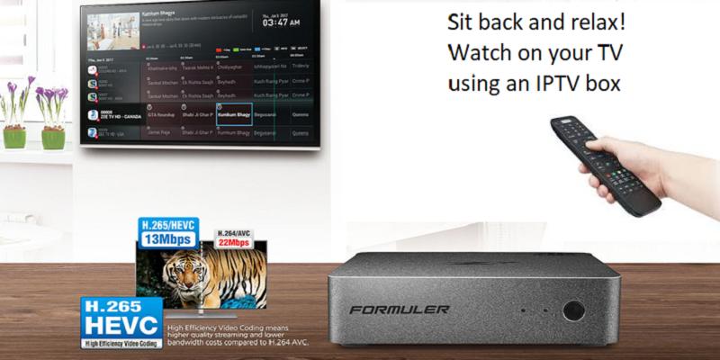 Formuler Z7 IPTV box
